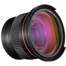Neewer - Objetivo gran angular para cámara réflex digital NIKON DSLR D3300 D3200 D3100 D5500 D5300 D5200 D5100 PENTAX K-30 K-50 K-500 K-5 K-5 II (52 mm)