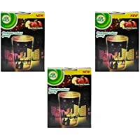 3x Air Wick Candela Profumata Multicolor Silhouttes–Red Ruby Apples–152G