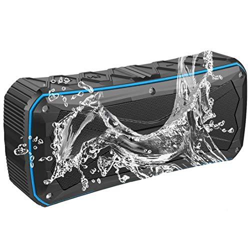 HZJ Outdoor-Lautsprecher bewegliche wasserdichte Bluetooth Lautsprecher Reiten Klettern Fahrrad Lautsprecher freihändige TF-Karte Audio Music Center,Blau