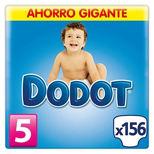 Dodot - Pañales, 156 unidades, 11-17 kg, talla 5