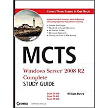 MCTS Windows Server 2008 R2 Complete Study Guide: Exams 70-640, 70-642 and 70-643 by William Panek (2011-04-26)