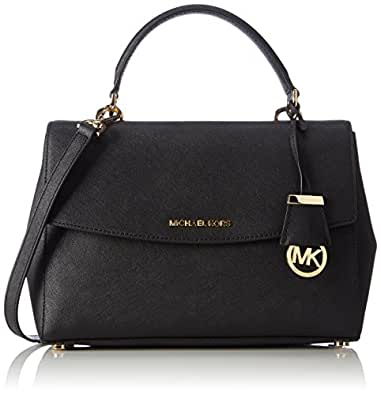 michael kors womens ava satchel black shoes. Black Bedroom Furniture Sets. Home Design Ideas