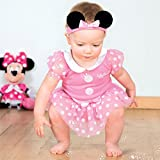 Disney Minnie Mouse Bodysuit with Headband - Age 9-12 Months