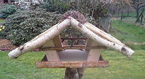 """Vogelfutterhaus mit Reetdach """"Friesenhaus groß"""" - 3"""