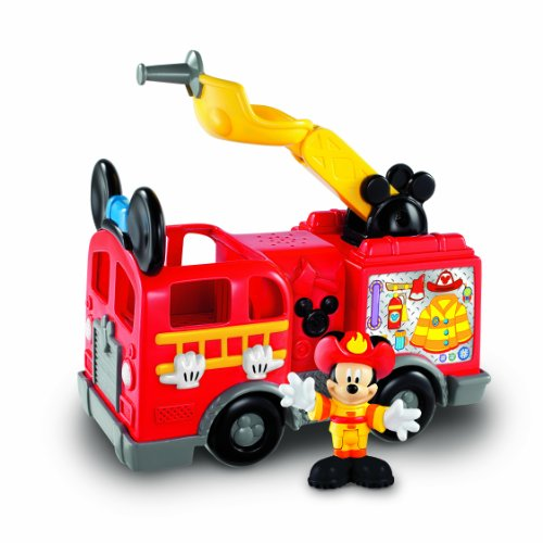 Fisher-Price Mattel Mickey Mouse X6124-Fire Engine