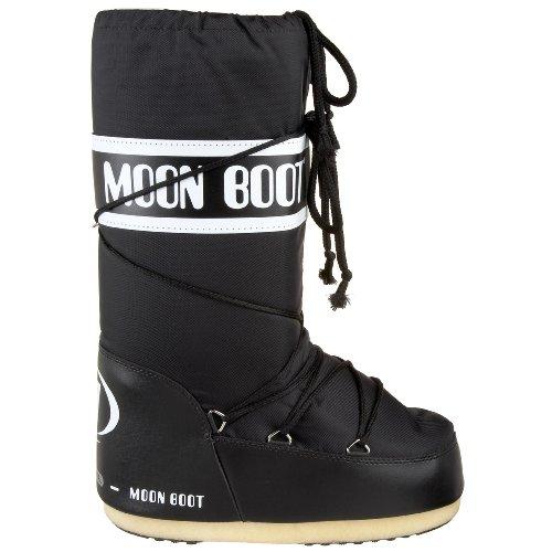 Moon Boot 140044, Stivali Invernali Unisex Nero