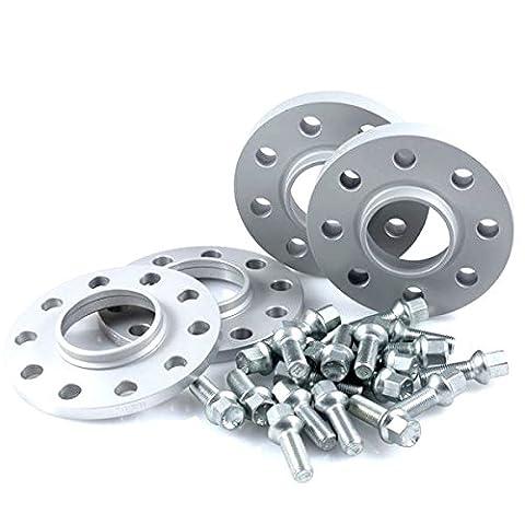 TuningHeads/H&R .0443466.DK.2055571B-3055571 Spurverbreiterung, VA 20 mm/HA 30 mm + Radschrauben
