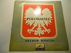 frederic chopin polonaises arthur rubinstein (pianiste)La Voix De Son Maitre falp 212