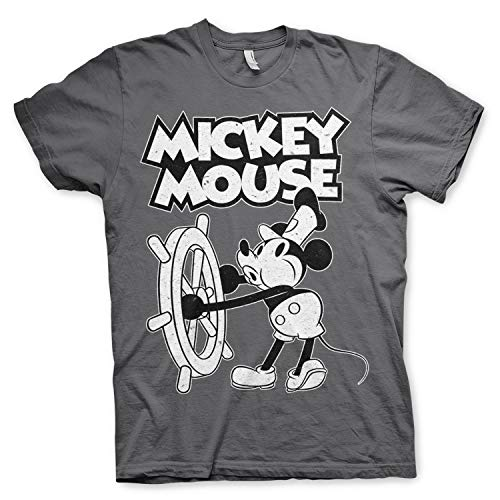 Disney - Camiseta de Mickey Mouse con Licencia Oficial, con diseño de