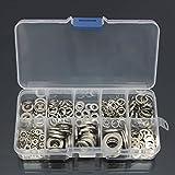 Mohoo Box 260 rondelle in acciaio inox Dock Base + 260 parti in acciaio inossidabile Rondella / Washer assortimento Set