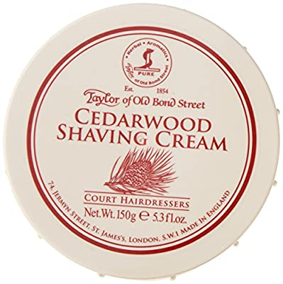 Taylor of Old Bond Street 150 g New Cedarwood Shaving Cream Bowl by Taylor of Old Bond Street