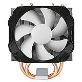 Arctic Freezer 12 Dissipatore per CPU Intel e AMD, Nero