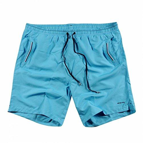 BARCO TEKSTIL uomo Sportswear Swim short, Black, M, 341549 Blu - Blue 5