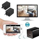 Inalámbrico WiFi HD 1080P Cámara Adaptador USB Cargador de Pared Sistema de Seguridad Residencial y de Oficina