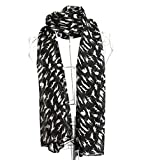 Fashion Women Scarf Soft Breathable Print Pattern Shawl Long Ladies Wrap Sheer Scarve...