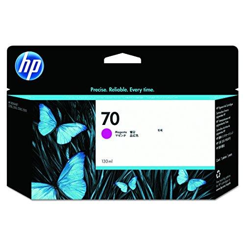 HP 70 Magenta Original Tintenpatrone, 130 ml (70 Hp Designjet)