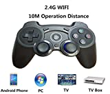 2.4G USB Wireless Gamepad Controller–Super Signal Gaming Joystick Griff Game Controller für Android/iOS/PC/PS3/Smart TV