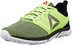 Reebok Mens Reebok Zstrike Run Se Yellow, Black and White Running Shoes - 8 UK/India (42 EU)(9 US)