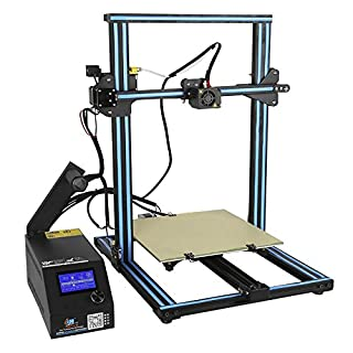 Creality CR-10S DIY Desktop 3D Printer Kit (Upgraded Version) Large Printing Size 300x300x400mm 1.75mm Filament 0.4mm Nozzle, Dual Leading Screw Heated Bed High-Precisio Free Testing Filament