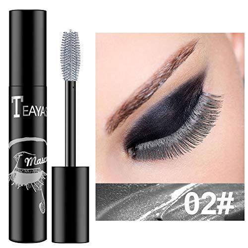 Wasserdichte Wimperntusche Nicht schwindlig Färben Einfach zu färben Langlebig Bunte Wimperntusche Augen Make-up