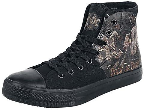 AC/DC Rock Or Bust Sneaker schwarz
