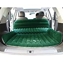 Mobile Inflation Travel Thicker Back Seat Cushion Air Bed for SUV,SUV Mattress Air bed Portable Car Bed for Outdoor Traveling,Free Electric Air Pump
