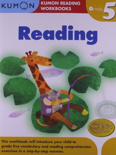 Grade 5 Reading (Kumon Reading Workbooks) por Eno Sarris