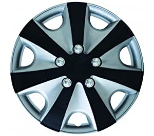 Walser Napoli 15338 Wheel Cover 13 Inches  - Car Wheel Trims (Set of 4)