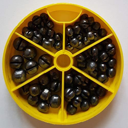 Preisvergleich Produktbild STMK Bleischrot Sortimentsdose 120gr (1, 0gr,  1, 25gr,  1, 8gr und 2, 9gr)