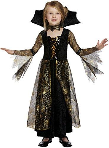 Spiderella'kostüm Kinder - Girls Spiderella Fancy Dress 4-12 yrs SMALL 4-6 YEARS