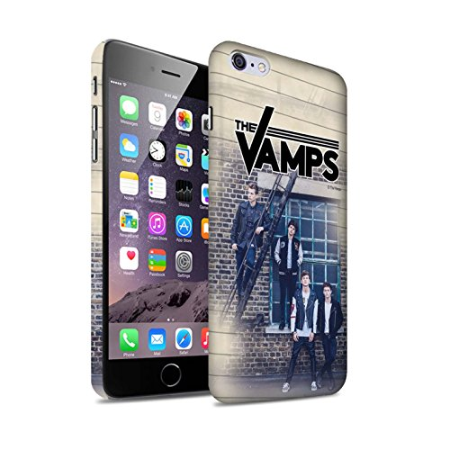 Offiziell The Vamps Hülle / Matte Snap-On Case für Apple iPhone 6+/Plus 5.5 / Pack 6pcs Muster / The Vamps Fotoshoot Kollektion Tagebuch
