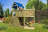Gartenpirat Piratenschiff Spielhaus aus Holz - 2