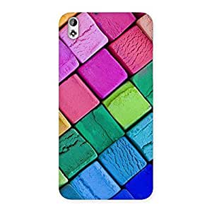 Wo Block Colors Back Case Cover for HTC Desire 816
