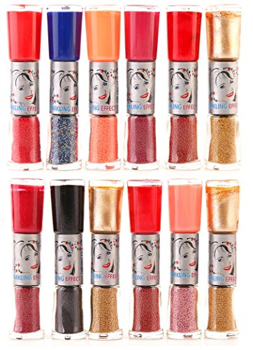 Foolzy Set of 24 Shades Twoway Nail Art Polish (FOO-NP-TP201)