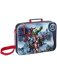 Safta Avengers Bolsa Escolar, Color Azul Marino