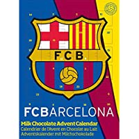 Adventskalender FC Barcelona Fan Adventskalender, Fussball Adventskalender (65g)