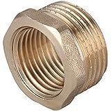 """latón Cojinete BSP Reductor conectores 3/4"""" macho - 1/2"""" HEMBRA"""