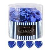 150 blaue Schokolade Herzen Hamburg