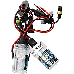 Lampara de xenon - SODIAL(R) 2 * Lamparas H7 Xenon HID 55W para coche - 6000K