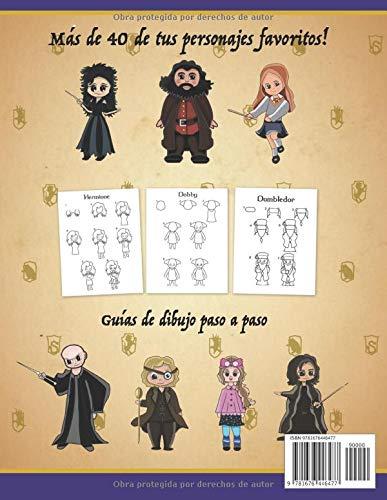 5126wyYI8cL - Cómo dibujar los personajes de Harry para niños: Aprende a dibujar más de 40 de tus personajes favoritos paso a paso (no oficial)