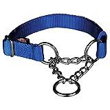 Trixie Hunde Zug Stop Halsband (M–L) (Blau)