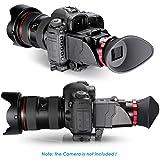 "Neewer® S63x plegable visor de aumento óptico para Canon 5DS, 7d, 7DII, 5DII, 5D3, D810, D800E, D750, D300S, D600, D610, Nikon D3200, D5300, D5200y otros 3""/3.2Pantalla LCD Cámaras DSLR"