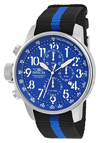 Invicta 22847 I-Force Montre Homme acier inoxydable Quartz Cadran bleu