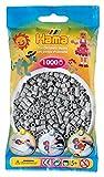 Hama 207-17 - Perlen 1000 Stück, grau
