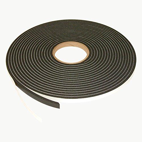 jvcc-scf-02-single-coated-pvc-foam-tape-1-4-in-thick-x-1-2-in-x-35-ft-black