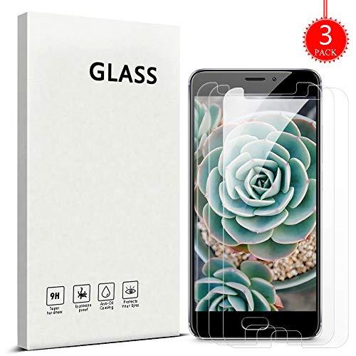 ZHXMALL [3 Stück] Meizu M5 Note Panzerglas Schutzfolie, [2.5D R&e Kante] [Bubble-frei] [Einfache Installation] 3D Touch HD-Klar Gehärtetes Glas Bildschirmschutzfolie für Meizu M5 Note