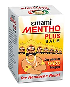 Emami Mentho Plus Balm - 9 ml