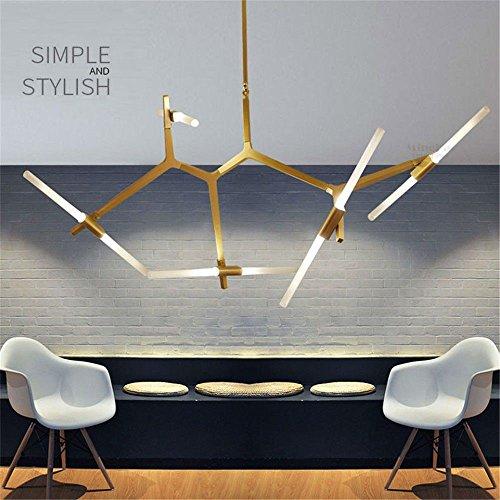 Moderne minimalistische Kunst Dekoration Zweig Pendelleuchten Lampen  Italienisches Design Persönlichkeit Wohnzimmer Restaurant Lampen Leuchten,  Glod, ...