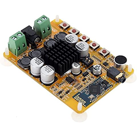WINGONEER TDA7492 inalámbrica Bluetooth 4.0 2 * 50W 2 canales receptor de audio estéreo Junta módulo amplificador digital de potencia