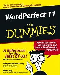 WordPerfect 11 For Dummies (For Dummies (Computer/Tech))
